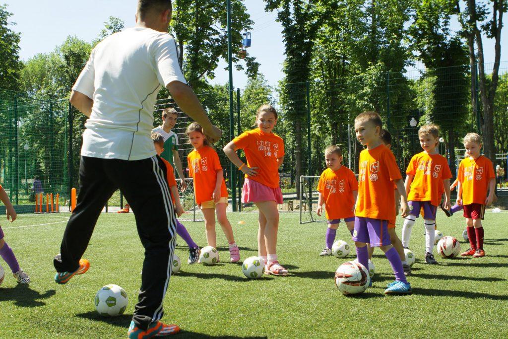 Футбольный лагерь