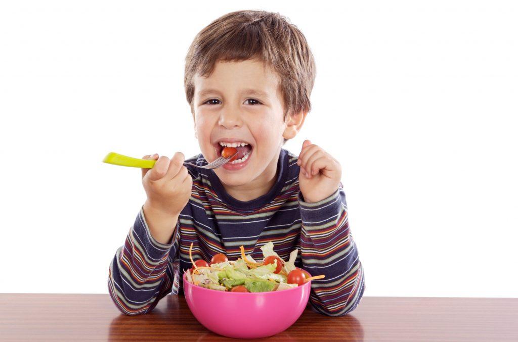 Приучаем ребенка к овощам