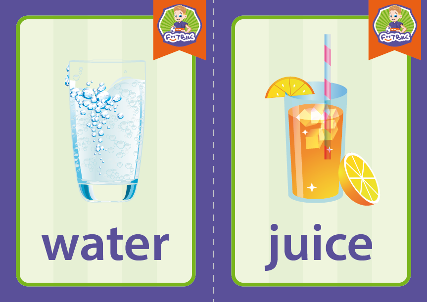 water and juice