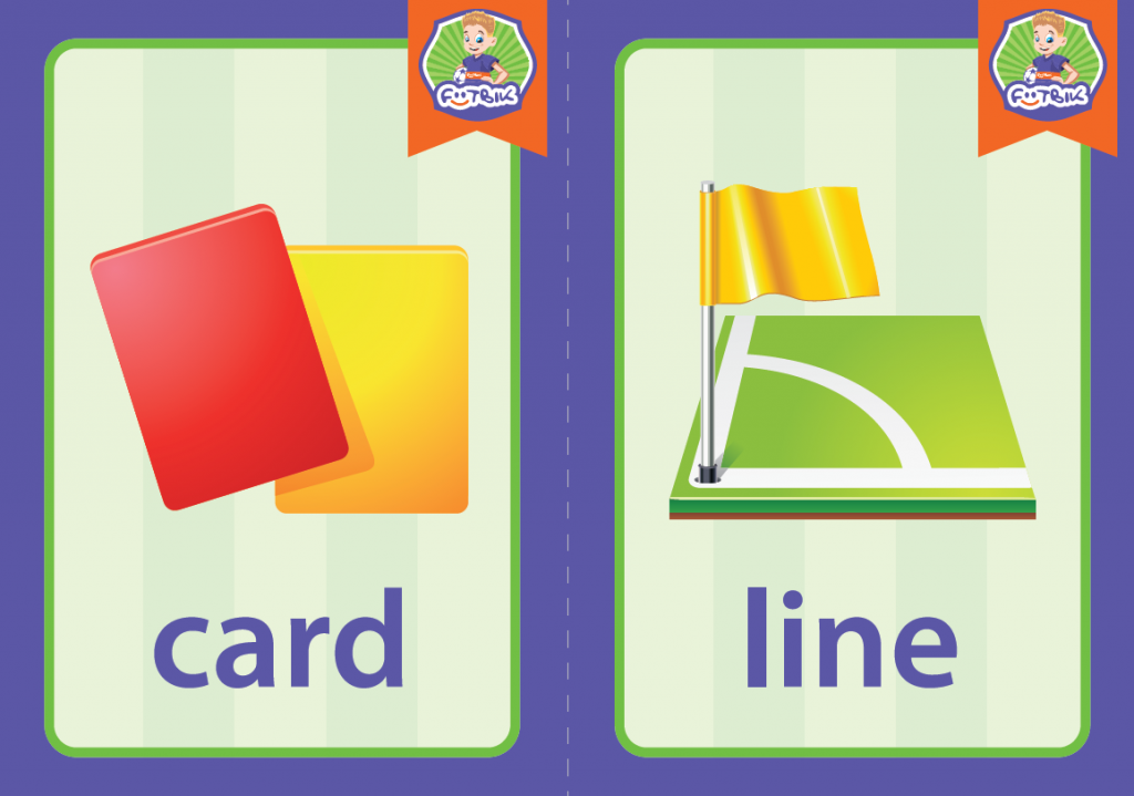card, line