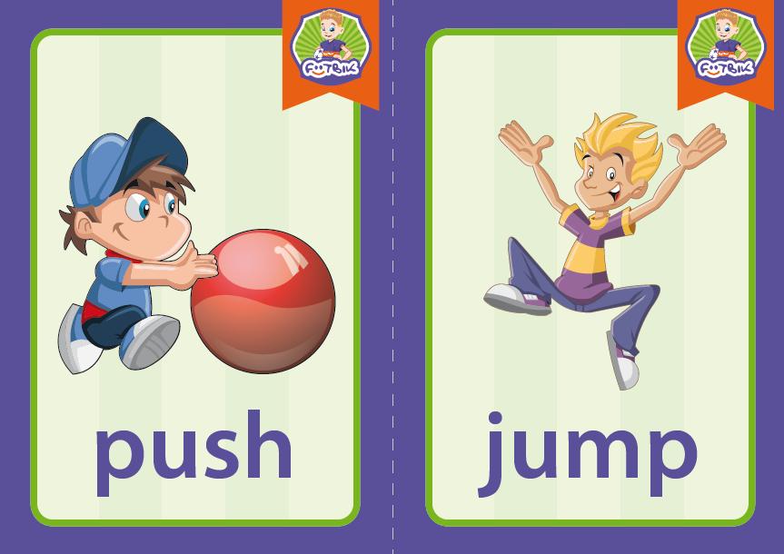 push, jump