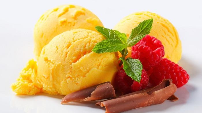 Мандариновe морозиво