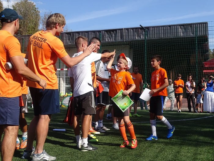 1-й Городской футбольный лагерь