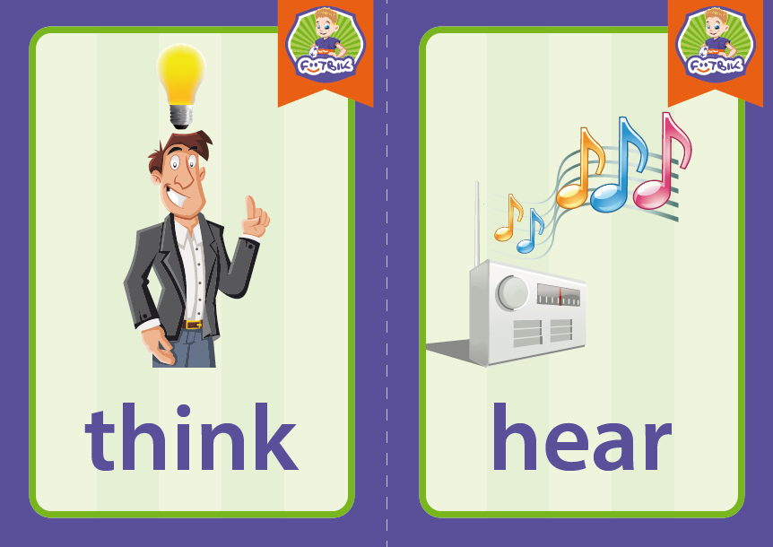 think, hear