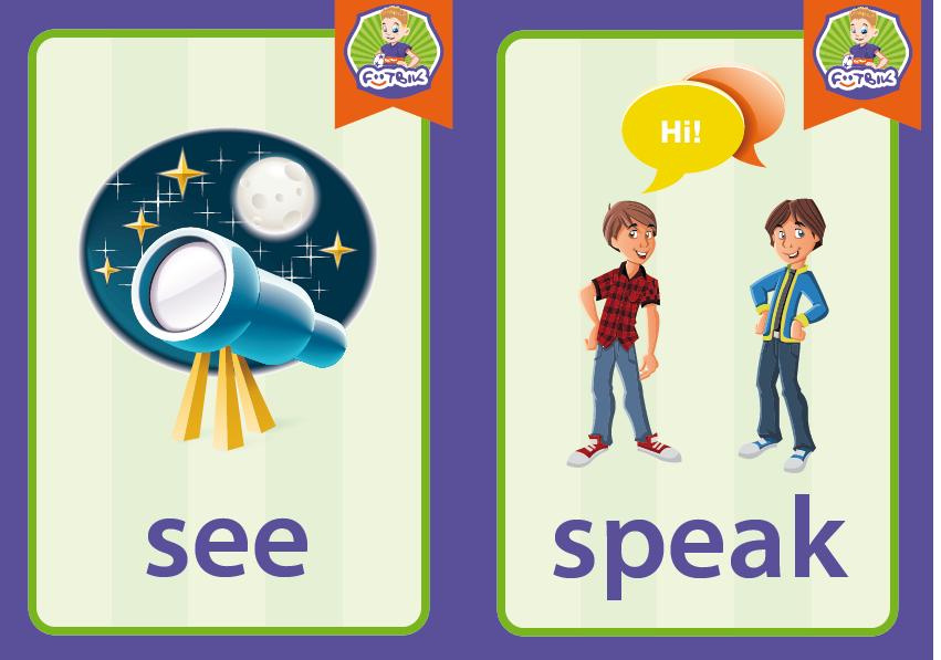 see, speak