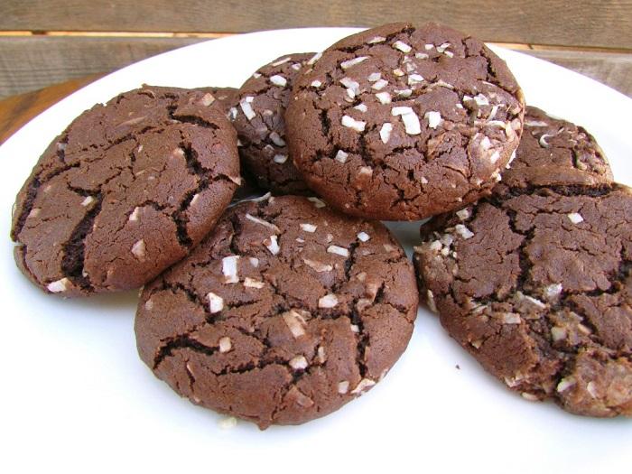 шоколадно-кокосове печиво