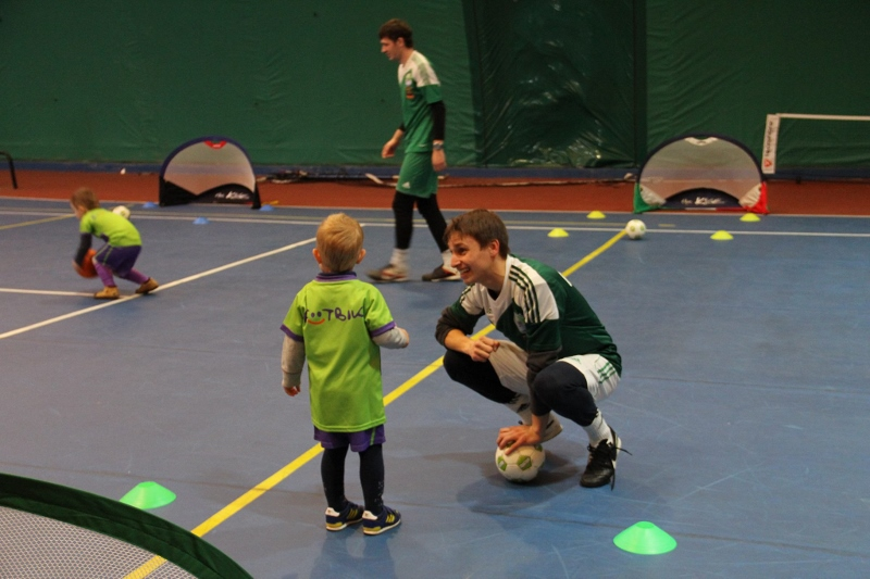 Футбол для дошкільнят в ШБ