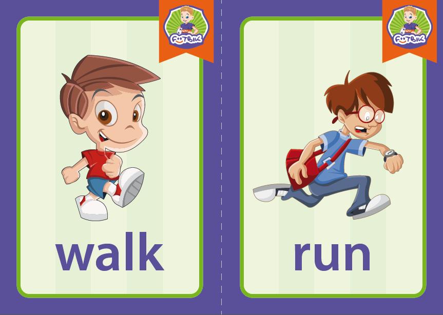 walk, run