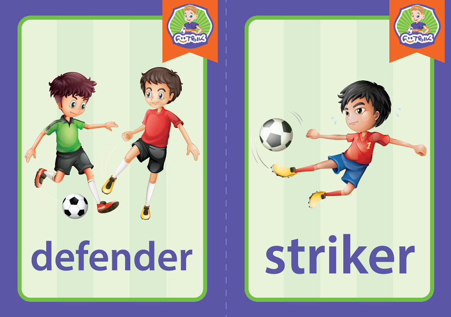 defender, striker