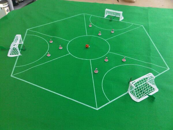 Разновидности футбола: трёхсторонний футбол