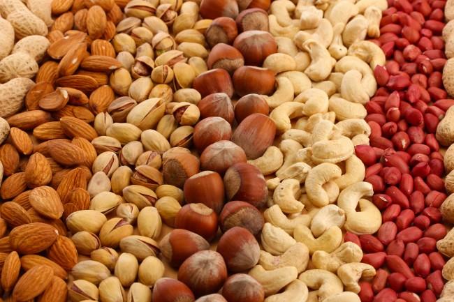 Види горіхів