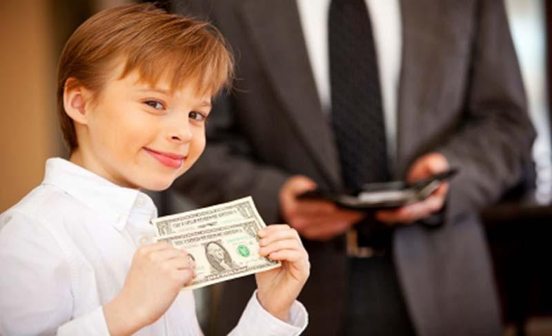 Дитина і гроші