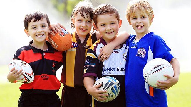 Спорт для ребенка в дошкольном возрасте