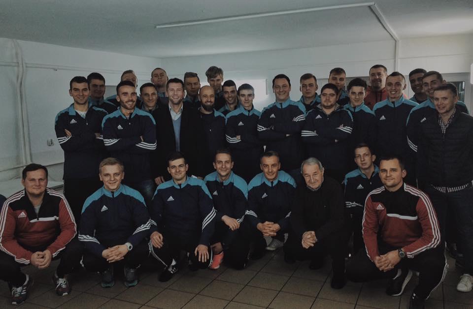 Дмитрий Василик получил лицензию UEFA В