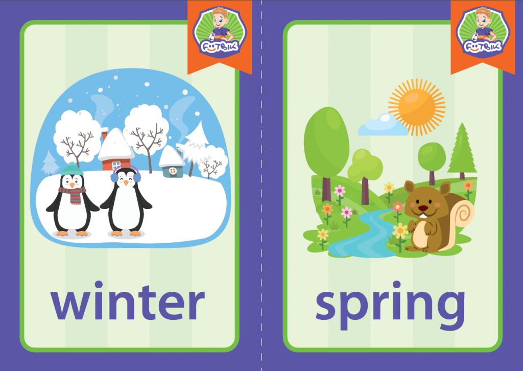 «Winter» и «Spring»
