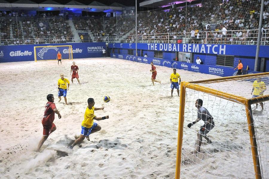 Різновиди футболу: пляжний футбол