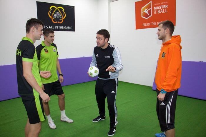 Семинар для тренеров футбольных школ