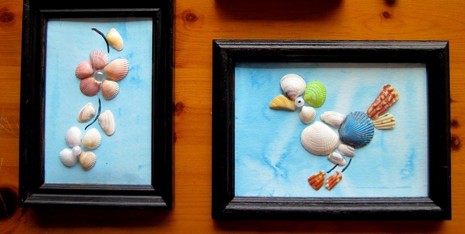 Картины из ракушек