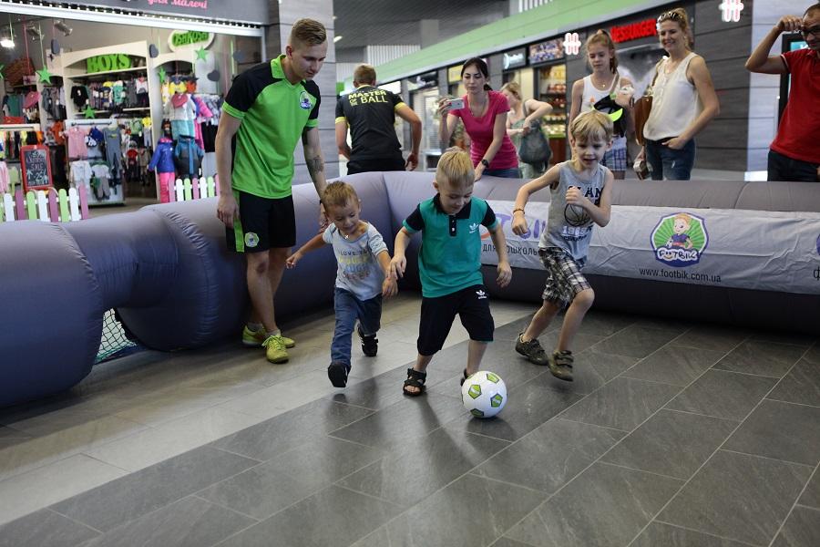 Открытие Футбик в Киеве