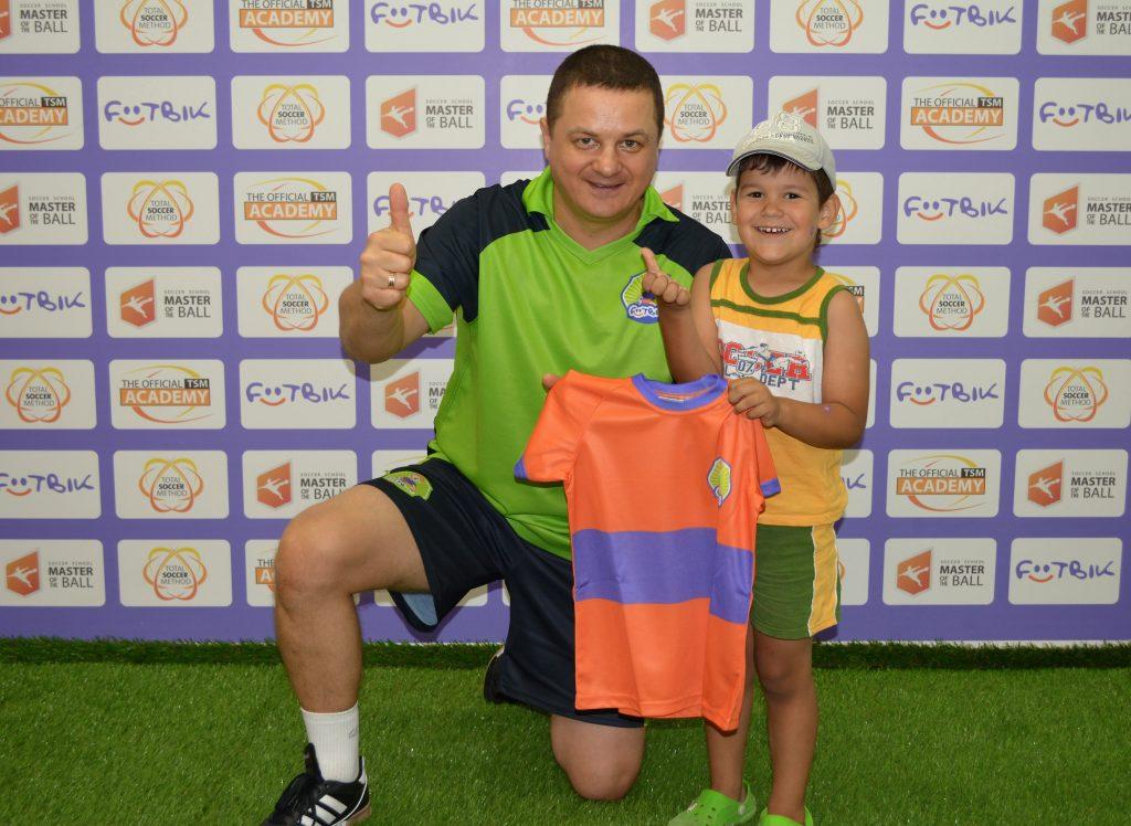 Первая команда Футбика в Киеве
