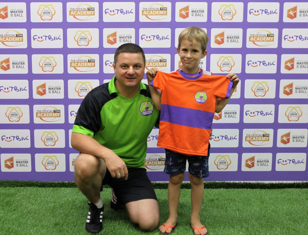 футбольный клуб для дошкольников Футбик