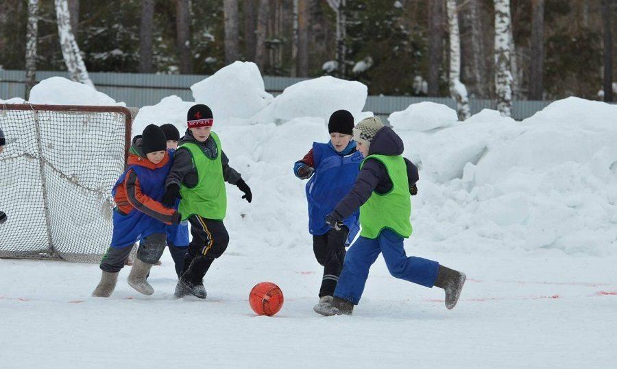 Разновидности футбола: футбол в валенках
