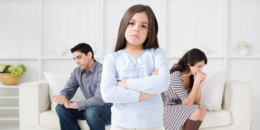 Як сварки в родині впливають на дітей