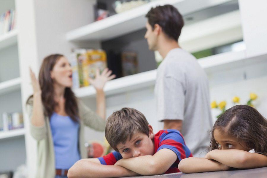 Влияние ссор в семье на малыша