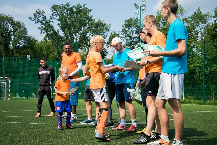 1-й Городской футбольный лагерь 2017
