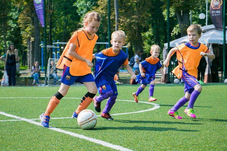 Закрытие 1-го Городского футбольного лагеря 2017