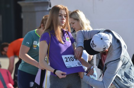 участие в марафоне